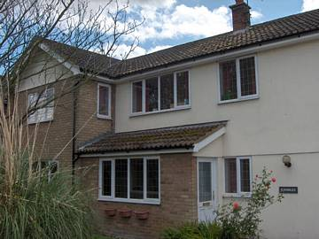 Photograph of White PVC-u soffits, fascia and bargeboard in Tendring